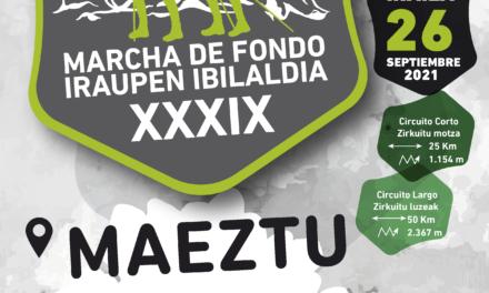 XXXIX Marcha de fondo – Iraupen ibilaldia Club de Montaña Gasteiz Mendi Taldea