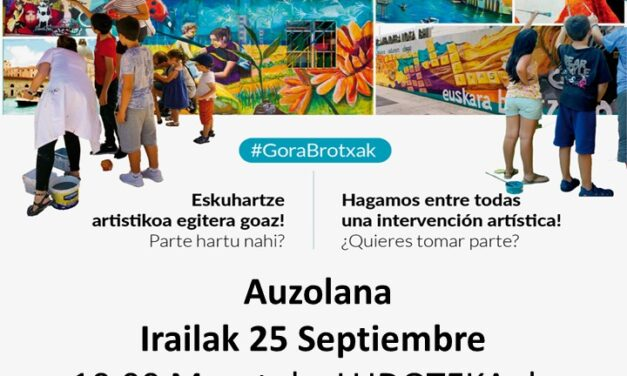 Taller de pintura participativo – Pintura partehartzaile tailerra (Maeztu, irailak 25 de septiembre)