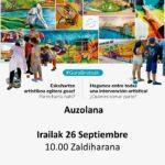 Taller de pintura participativo – Pintura partehartzaile tailerra (Zaldiharana, irailak 26 de septiembre)