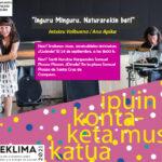 Ipuin kontaketa musikatua: Inguru minguru naturarekin bat! (Irailak 24 de septiembre)