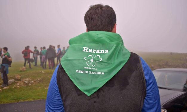 El encuentro solidario por la lucha contra la ELA reunió a 300 personas en el monte Kapitate