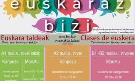 Euskara taldeak – Clases de euskera 2021-2022