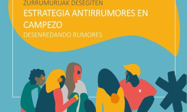 Aurkezpena – Presentación: Estrategia antirrumores en Campezo. Kanpezuko zurrumurruen aurkako estrategia (urriak 6 de octubre).